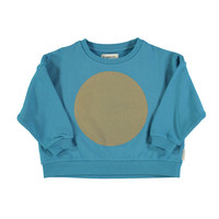 "Unisex sweatshirt | deep blue w/ ""rec"" print"
