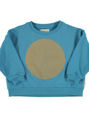 "piupiuchick Unisex sweatshirt | deep blue w/ ""rec"" print"