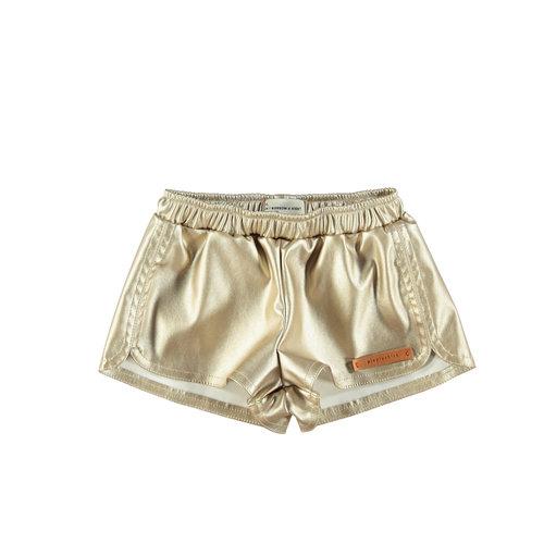 piupiuchick Short shorts | golden