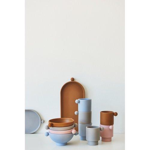 OYOY living design Tiny inka bowl dusty caramel/rose