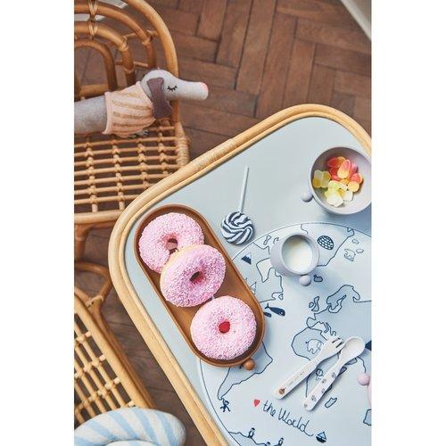 OYOY living design Tiny inka tray caramel