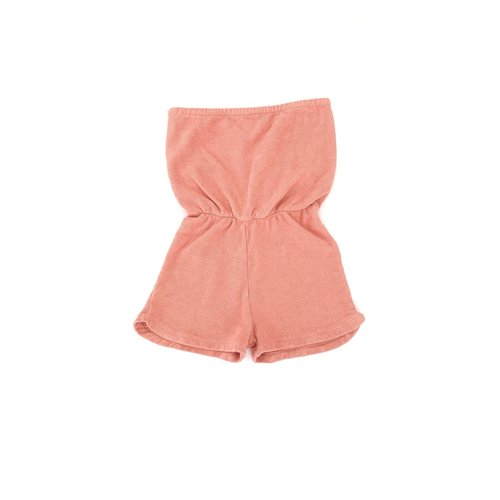 Long live the queen Terry romper rose 934