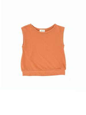 Long live the queen Sleeveless tee pumpkin 902