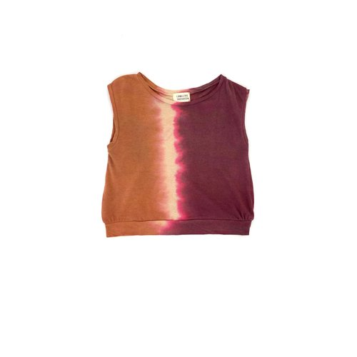 Long live the queen Sleeveless tee canyon tie and dye 932