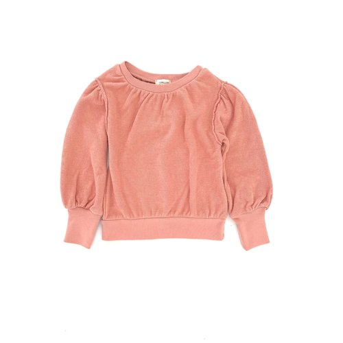 Long live the queen Puffed sweater rose 934