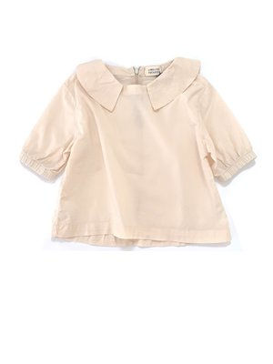 Long live the queen Collar blouse natural