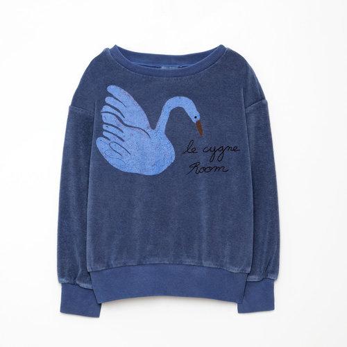 weekend house kids Swan Sweat shirt