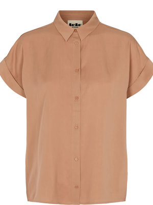 MarMAr CPH Tava blouse ss lyocell rose brown