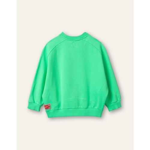 oilily Hogo sweater flash green