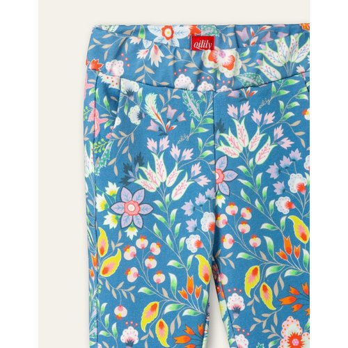 oilily Halykaday sweat pants Aqua sits riviera blue