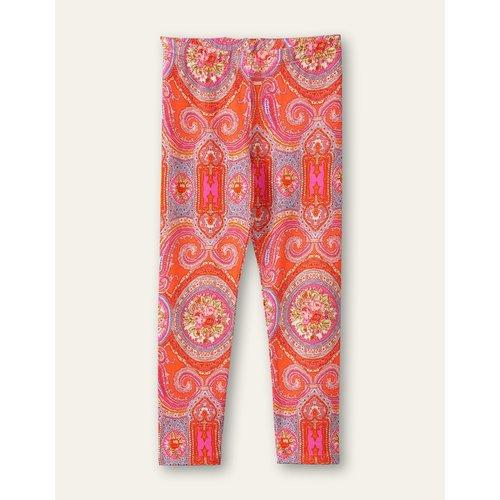 oilily Tiska leggings  Paisley city rose hot coral Orange
