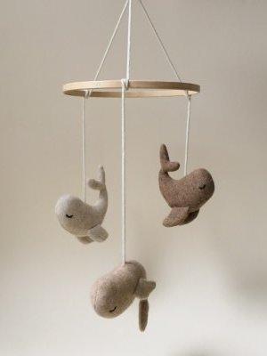 Konges slojd Whale mobile