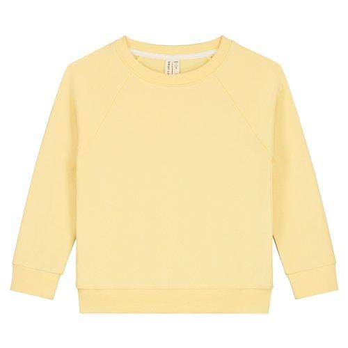 Gray label Crewneck sweater mellow yellow