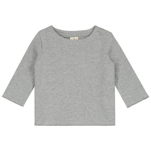 Gray label Baby L/S tee grey melange