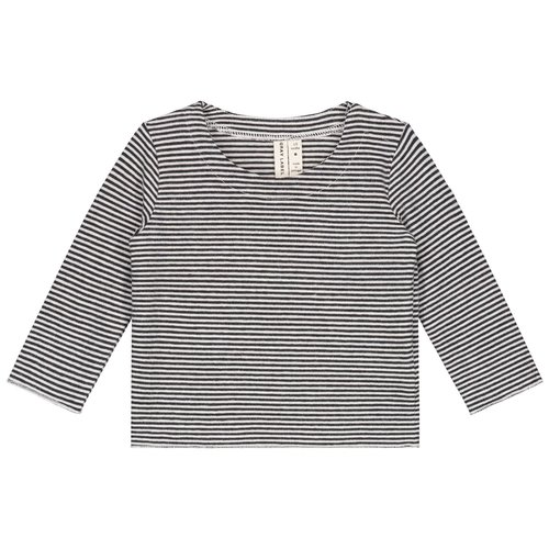 Gray label Baby L/S tee nearly black cream