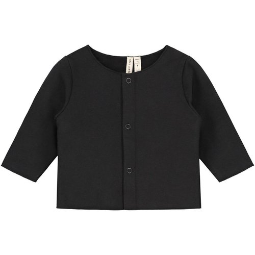 Gray label Baby cardigan nearly black