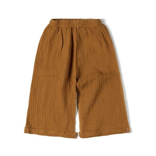 Nixnut Wide pants caramel