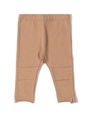 Nixnut Tight legging stripe nude/ caramel