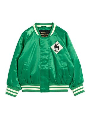 Mini rodini Panther baseball jacket green