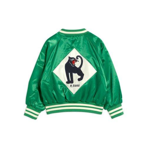 Mini rodini Panther baseball jacket green