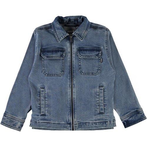 Molo Henrik stone blue jacket