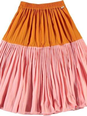 Molo Bridget tangerine skirt