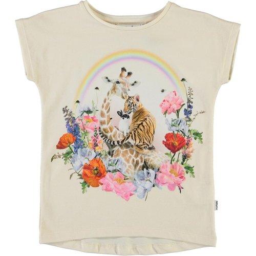 Molo Ragnhilde rainbow circle tshirt
