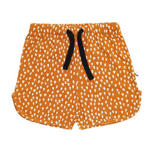 CarlijnQ Golden sparkles shorts