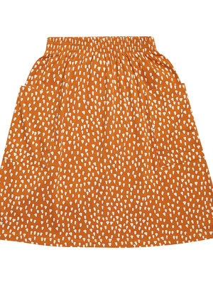 CarlijnQ Golden sparkles skirt with pockets