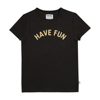 Have fun t-shirt with print black