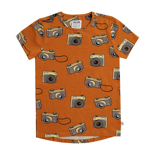 CarlijnQ Photo camera short sleeve dropback