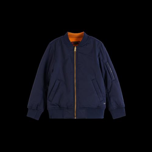 Scotch & Soda Reversible bomber jacket with artwork