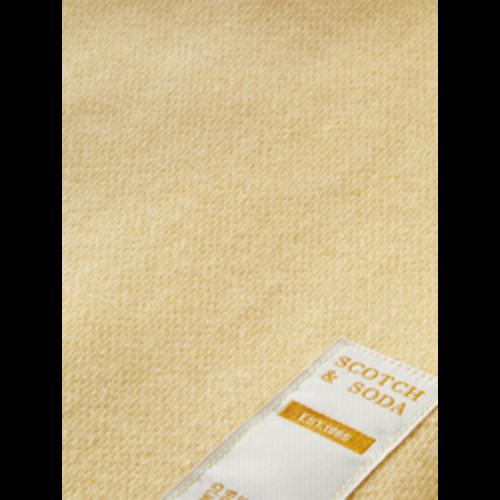 Scotch & Soda Unisex Hoodie lichtgeel 161088