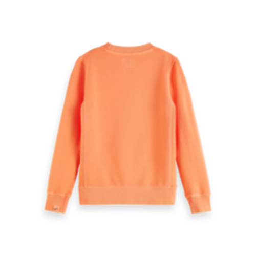 Scotch & Soda Crewneck 161075 sweater oranje 3539