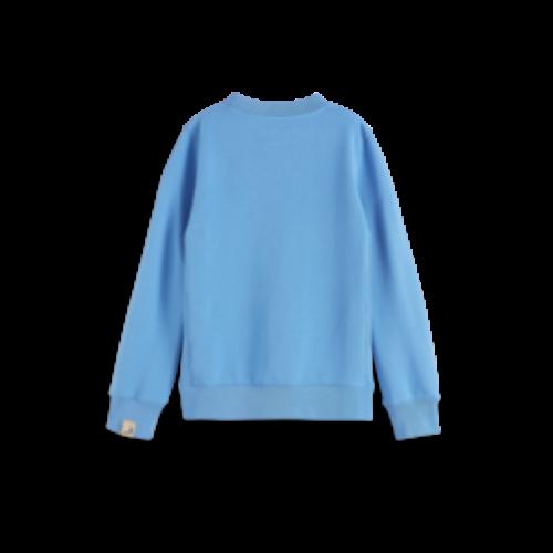 Scotch & Soda Crewneck 161075 sweater blauw  4133