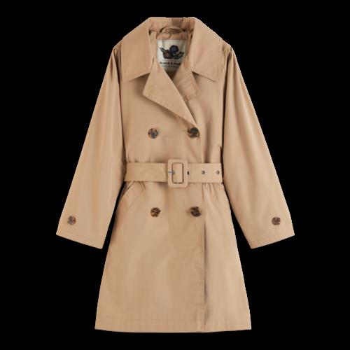 Scotch & Soda Longer length classic trench coat 161216