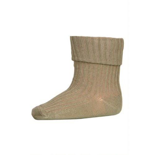 MP Denmark Cotton rib baby socks safari green  3009