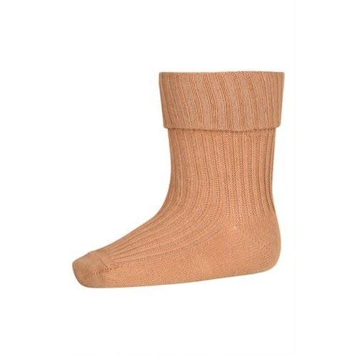 MP Denmark Copy of  Cotton rib baby socks Apple Cinnamon 4155