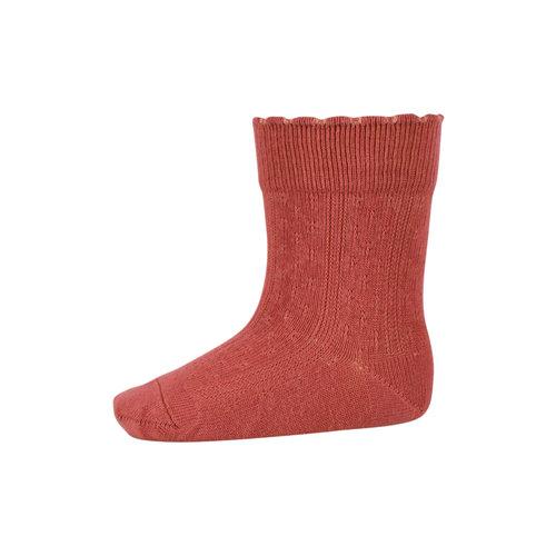 MP Denmark Laura socks Marsala 4270