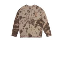Rock Tie-Dye-Coffee sweater