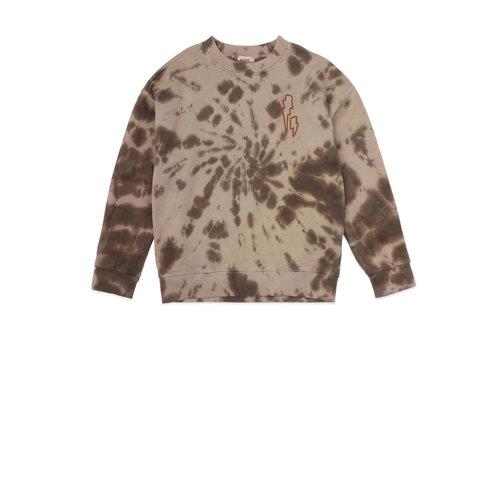 ammehoela Rock Tie-Dye-Coffee sweater