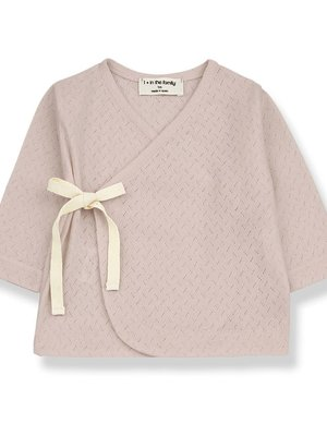 1+ in the family ANNIE newborn t-shirt nude