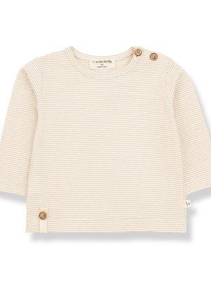 1+ in the family ODON long sleeve t-shirt beige