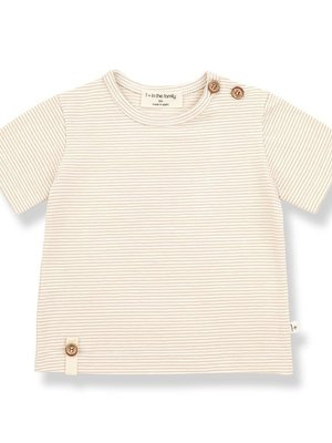 1+ in the family BLAI s.sleeve t-shirt beige
