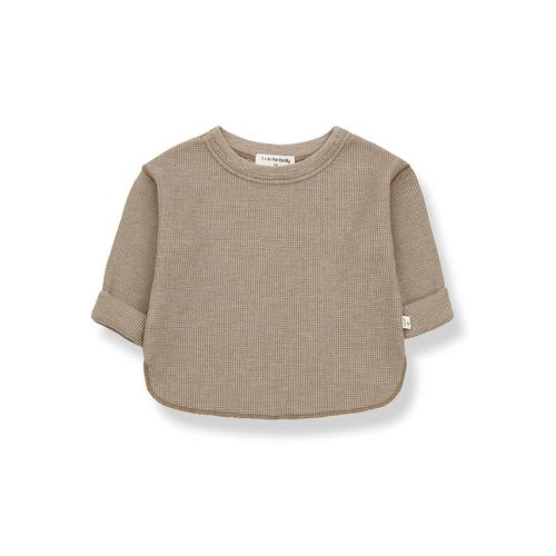 1+ in the family ALMA long sleeve t-shirt khaki