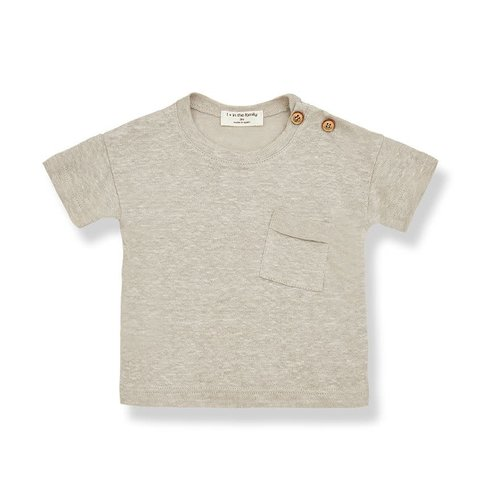 1+ in the family GABRIEL s.sleeve t-shirt beige