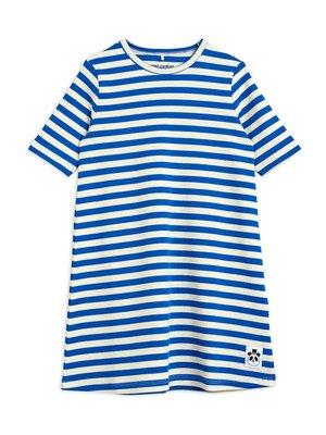 Mini rodini Stripe rib ss dress