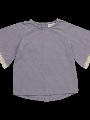 Blossom kids Tunic short sleeves - Shelves - Lavender