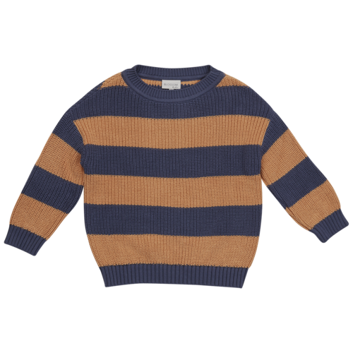Blossom kids Knitted jumper - chuncky stripes