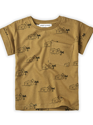 Sproet&Sprout T-shirt Print Oasis S21-711